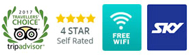4 Star Motel Accommodation with Wifi Interent and Sky TV